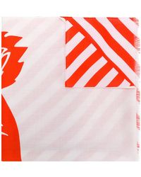 KENZO - Tiger Print Scarf - Lyst