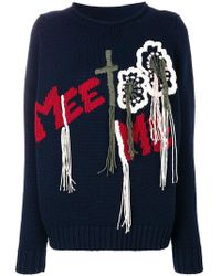 Wunderkind Embroidered Sweater
