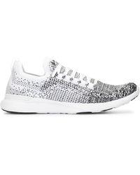 APL Shoes Кроссовки На Шнуровке - Белый