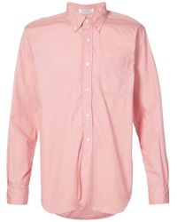 Engineered Garments Chest Pocket Shirt - Pink