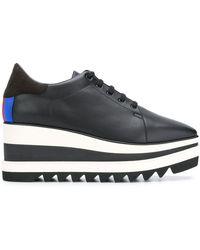Stella McCartney Sneak-elyse Platform Sneakers - Zwart