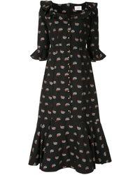 Erdem - フローラル ドレス - Lyst