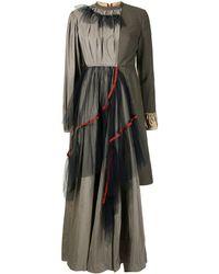 Kolor パッチワーク ドレス - マルチカラー