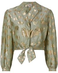 Temperley London - Riviera Tie Shirt - Lyst