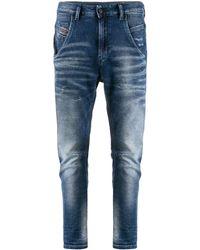 DIESEL High Waist Jeans - Blauw
