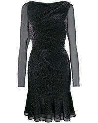 Talbot Runhof - Kleid mit Schleife - Lyst