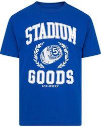 Stadium Goods Campus Short-sleeve T-shirt - Blue