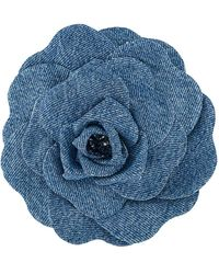 Philosophy Di Lorenzo Serafini Denim Broche - Blauw
