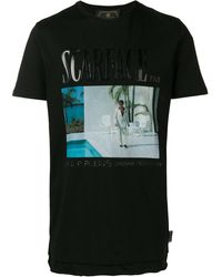 Philipp Plein Scarface Tシャツ - ブラック