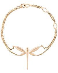 Anapsara 'dragonfly' Chain Bracelet - Metallic