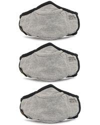 AS2OV Mascarilla de tres capas - Gris
