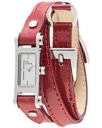 Dior プレオウンド D104-100 腕時計 - レッド