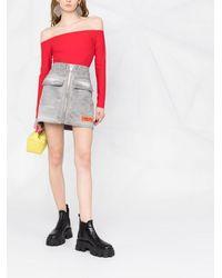 Murmur Blusa con hombros descubiertos - Rojo