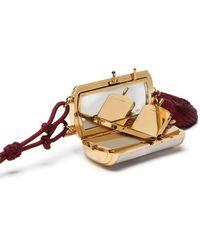 Dolce & Gabbana タッセル クラッチバッグ - ホワイト