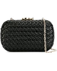 10496c1d57 Lyst - Givenchy Iconic Smooth Leather Star Clutch Bag in Black