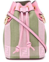 Fendi Mini Mon Tresor Bucket Bag - Pink