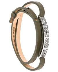 Northskull - 'Woto Tag' Armband - Lyst