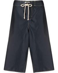 Jil Sander Drawstring Bermuda Shorts - Black