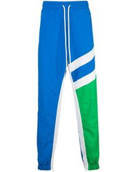 God's Masterful Children Stripes Track Pants - Blue