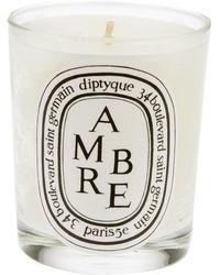 Diptyque Ambre キャンドル - ホワイト