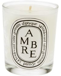 Diptyque 'ambre' Candle - White