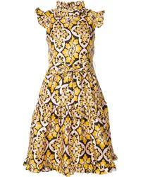 La DoubleJ Платье 'zip & Sassy Palazzo ' - Желтый