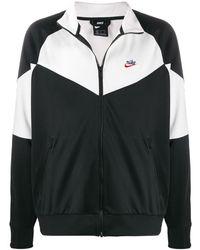 Nike Panelled Windrunner Jacket - Black