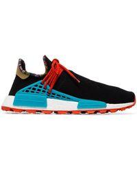 adidas Originals X Pharrell Williams Black Human Body Nmd Sneakers - Zwart