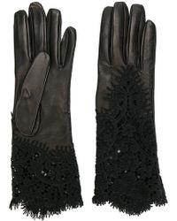Ermanno Scervino - Lace Insert Gloves - Lyst