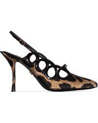 Dolce & Gabbana - Lori 90 レオパード パンプス - Lyst