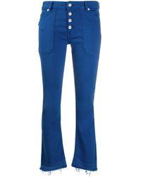 Zadig & Voltaire Londa Raw-hem Jeans - Blue