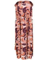 Adriana Degreas Sleeveless Dress - Многоцветный