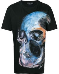 026972a1 Givenchy Painted Madonna Print T-Shirt in Black for Men - Lyst