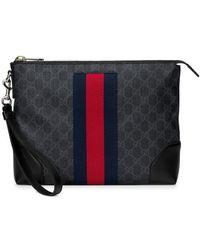 Gucci - GG Supreme Men's Bag - Lyst