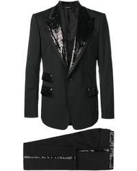 Dolce & Gabbana Sicilia ツーピース スーツ - ブラック
