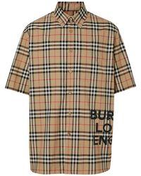 Burberry チェック シャツ - マルチカラー