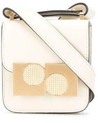 Ports 1961 Anika Mini Square Cross-body Bag - Natural