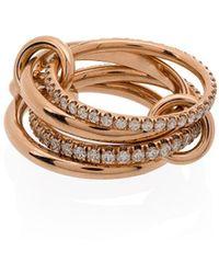 Spinelli Kilcollin Кольцо Polaris Из Розового Золота - Розовый
