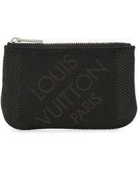 Louis Vuitton 2010 プレオウンド ポシェット クレ コインケース - ブラック