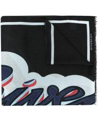 Givenchy - Pañuelo con logo estampado - Lyst