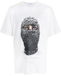 ih nom uh nit Chaz A. Jordan Tシャツ - ホワイト