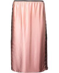 Jason Wu Lace-detail Shift Skirt - Pink