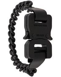 1017 ALYX 9SM バックル ブレスレット - ブラック