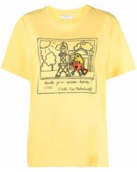 Sandro グラフィック Tシャツ - マルチカラー