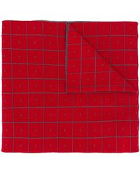 A_COLD_WALL* Cut-out Scarf Cape - Red