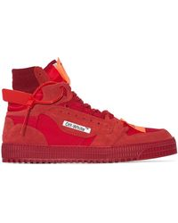 Off-White c/o Virgil Abloh Off-court 3.0 Sneakers - Rood