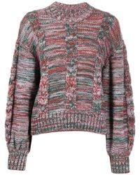 Stine Goya Long Sleeve Gio Sweater - Multicolor