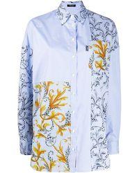 Versace - Рубашка С Принтом - Lyst