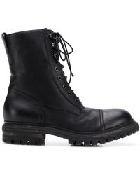 Roberto Del Carlo Lace-up Ankle Boots - ブラック