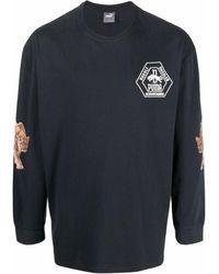 PUMA ロゴ ロングtシャツ - ブラック